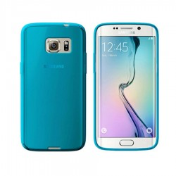 GEL COVER AZZURRA SAMSUNG GALAXY S6 EDGE G925