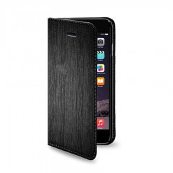 CUSTODIA LIBRO MAGNET NERA IPHONE 6 - 6S