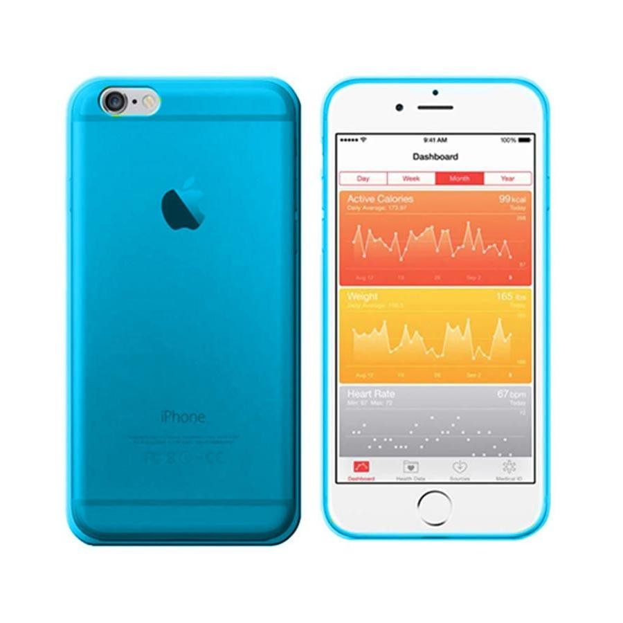 custodia iphone 6 blu