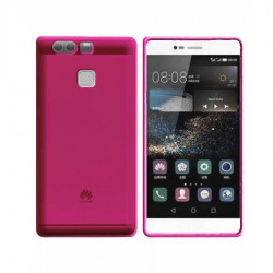 GEL COVER TRASPARENTE ROSA HUAWEI P9 PLUS