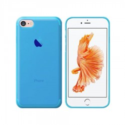 GEL COVER IPHONE 7 - 8 - SE 2020 AZZURRA