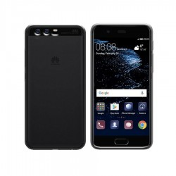 GEL COVER TRASPARENTE FUME' HUAWEI P10 PLUS