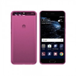 GEL COVER TRASPARENTE ROSA HUAWEI P10 PLUS