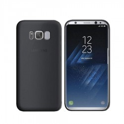 GEL COVER TRASPARENTE NERA SAMSUNG GALAXY S8 PLUS