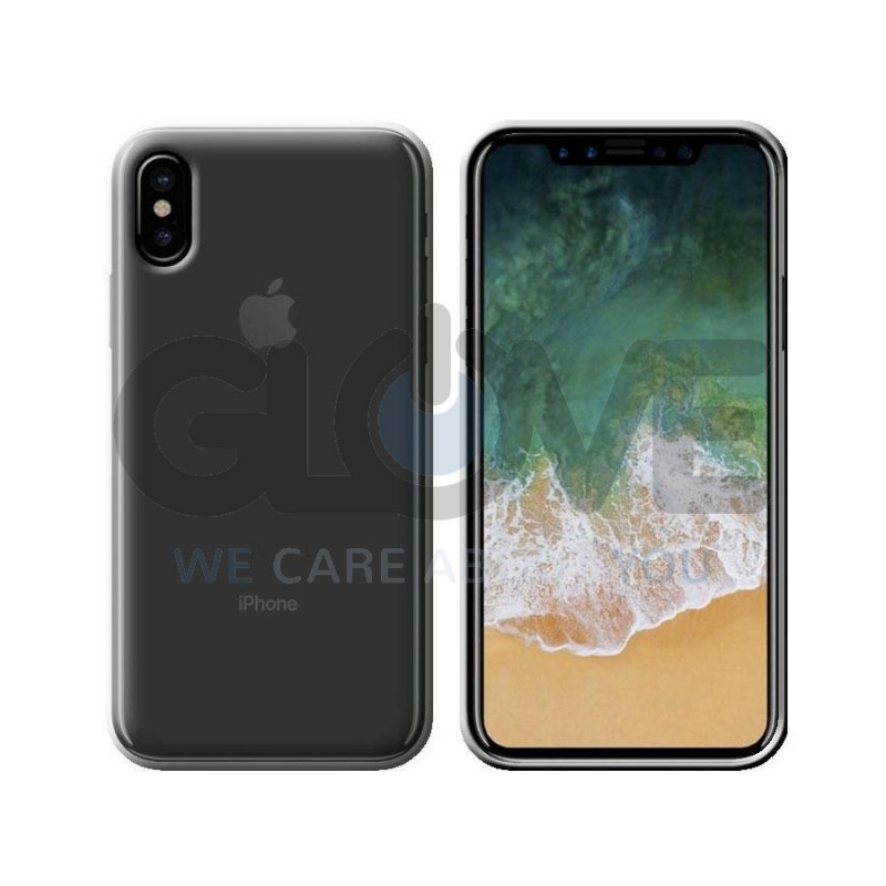iphone x custodia trasparente