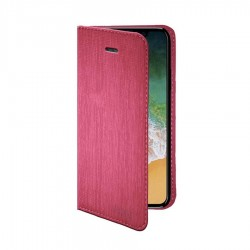 CUSTODIA LIBRO MAGNET ROSA IPHONE X