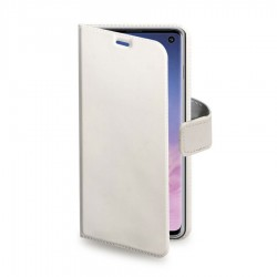 BOOK COVER SAMSUNG S10 BIANCO