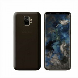 GEL COVER SAMSUNG GALAXY S9 NERO FUME'