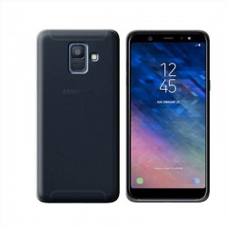 GEL COVER SAMSUNG GALAXY A6 (2018) A600 NERO FUME'