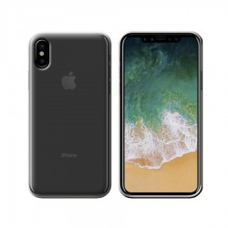 GEL COVER IPHONE XS MAX TRASPARENTE