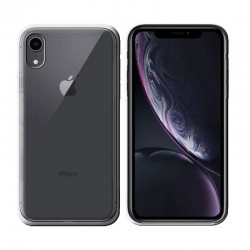 GEL COVER IPHONE XR TRASPARENTE