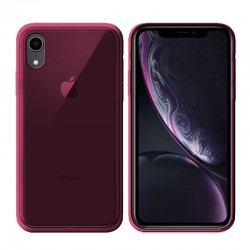 GEL COVER IPHONE XR ROSA