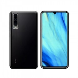 GEL COVER HUAWEI P30 NERO FUME'